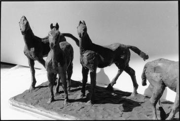 Four horses detail_C